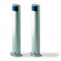Colonnes de support avec photocellules 50 cm