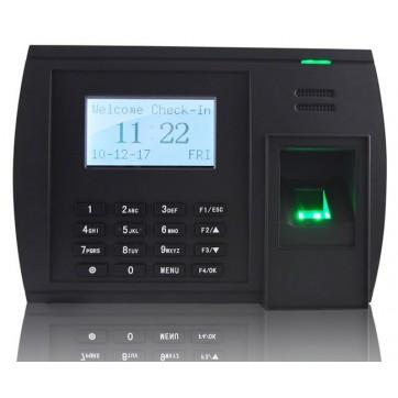 Pointeuse biométrique avec lecteur de carte MIFARE + WIFI + GPRS + USB + RJ45 + TCP-IP
